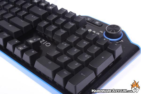 Azio Mgk L80 Rgb Backlit Mechanical Gaming Keyboard