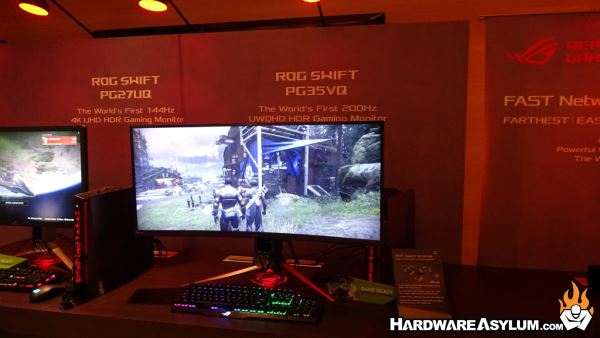 Bezel-less Gaming from ASUS at CES 2018 | Hardware Asylum