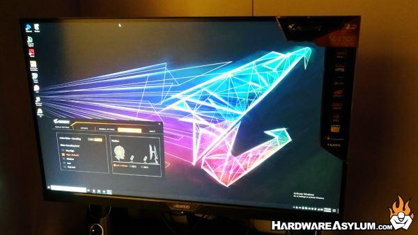 Aorus Gaming Monitor with Noise Canceling | Hardware Asylum