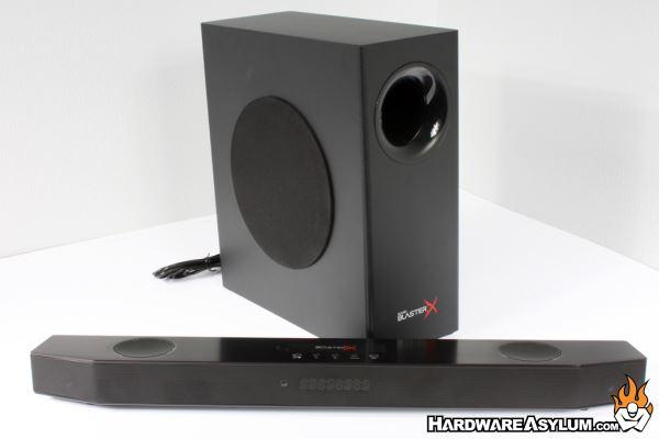 Creative Sound BlasterX Katana Multi-channel Gaming Soundbar Review - BlasterX Katana Soundbar ...