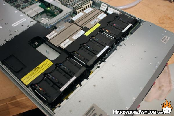 this very thing happened to me with a recent ebay purchase for a hp  proliant dl360 g5 1u server