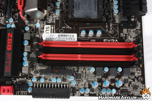 Evga Z68 Ftw Motherboard Review Board Layout And