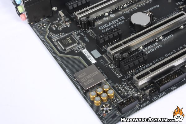 Gigabyte Z170X Ultra Gaming Motherboard Review - Onboard