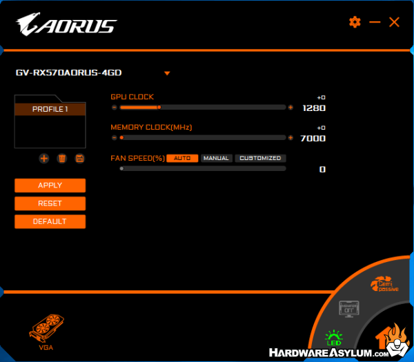 Aorus Radeon RX 570 4G Video Card Review - Aorus Graphics