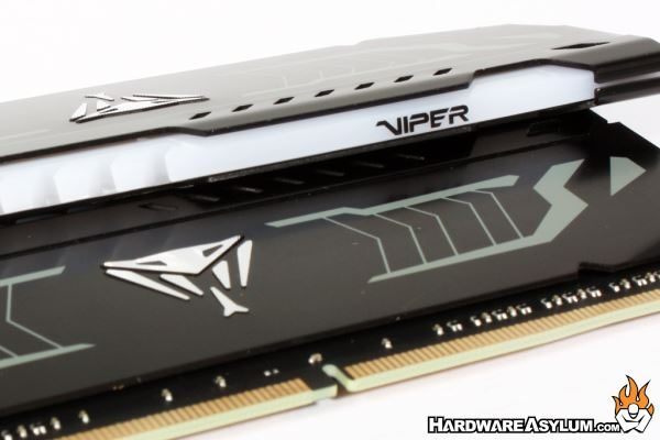 Patriot Viper White LED 3200Mhz Dual Channel Memory Review