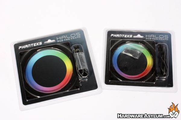 Phanteks Halos RGB Fan Frame Review | Hardware Asylum