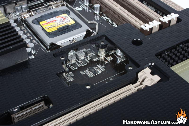 Asus Sabertooth P67 Motherboard Review Thermal Armor
