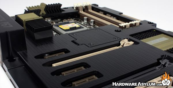 Asus Sabertooth P67 Motherboard Review Board Layout And