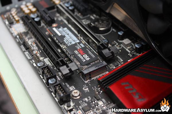 Samsung Pro 950 256gb M 2 Nvme Ssd Review Hardware Asylum
