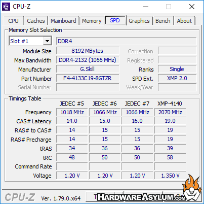 GSKill Trident Z 4133Mhz RGB CL19 DDR4 Dual Channel Memory