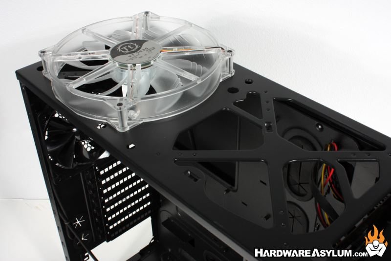 Thermaltake Overseer Rx 1 Case Review Case Layout And