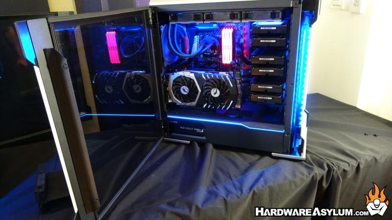 Phanteks Shows The New Evolv X At Computex 2018 Hardware