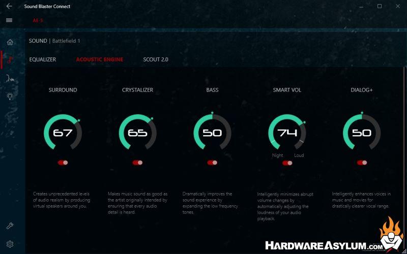 Sound BlasterX AE-5 Pro Gaming Sound Card Review - BlasterX
