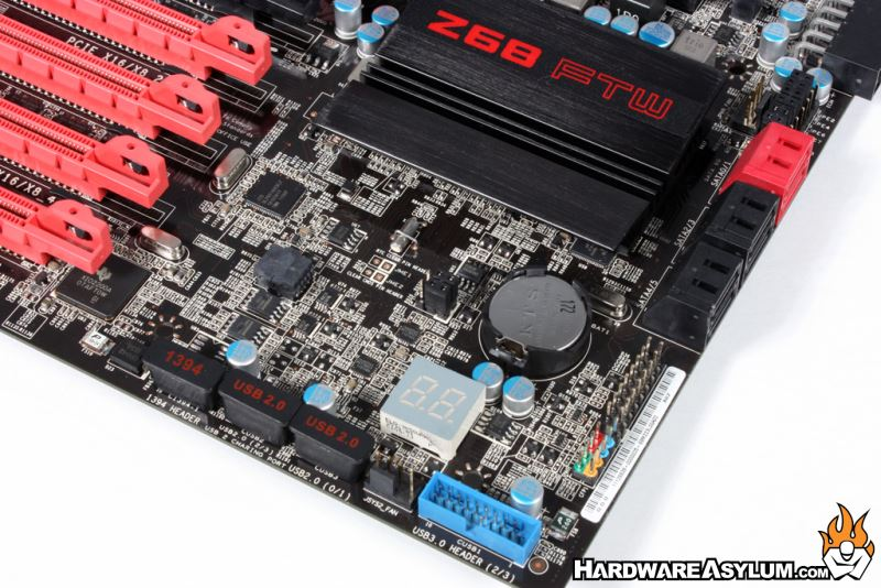 evga z68 ftw motherboard review board layout and features cont rh hardwareasylum com EVGA FTW 1060 EVGA 1080 FTW vs SC