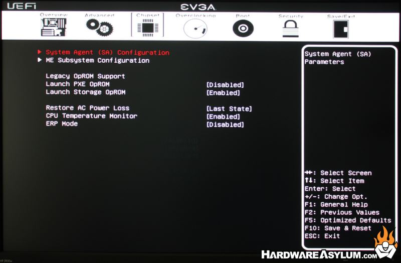 EVGA Z77 FTW Motherboard Review - UEFI Features | Hardware