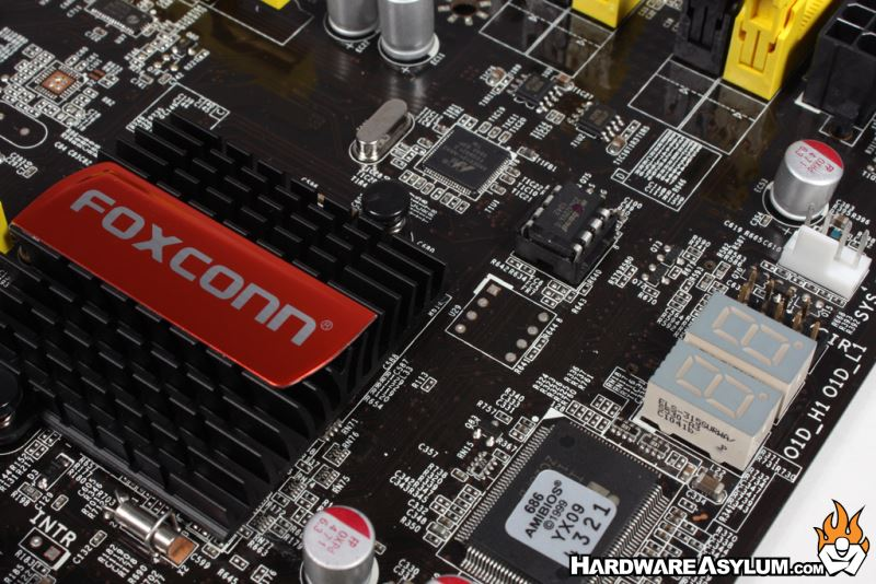 Foxconn P67A-S Motherboard Review - Board Layout and Features Cont