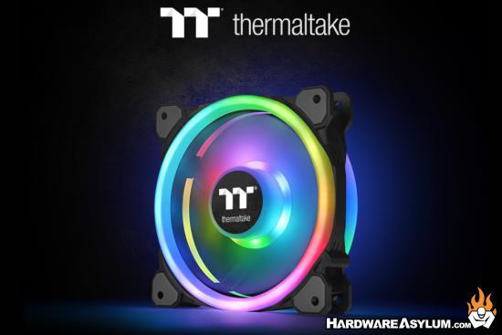 Thermaltake New Riing Trio 14 RGB Radiator Fan TT Premium