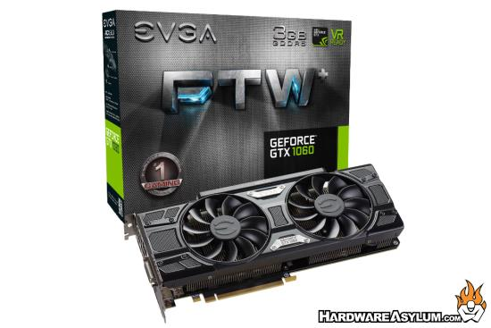 EVGA GeForce GTX 1060 – Now Available with 3GB GDDR5