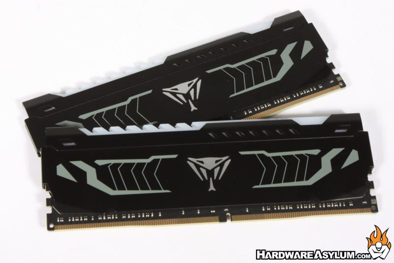 Patriot Viper White LED 3200Mhz Dual Channel Memory Review - Patriot
