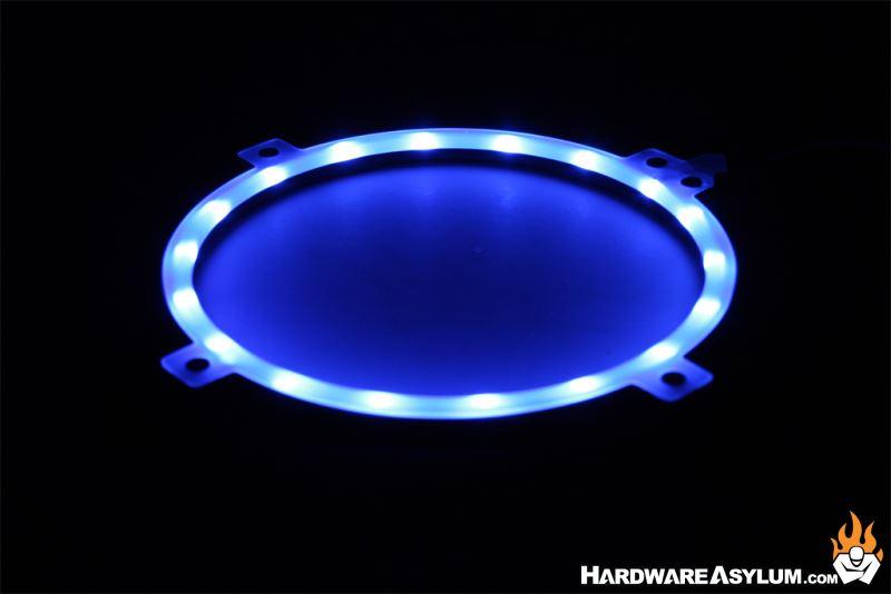Phanteks Halos RGB Fan Frame Review   Hardware Asylum