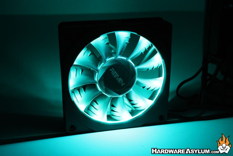 Phanteks Halos RGB Fan Frame Review | Hardware Asylum