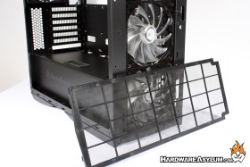 Silverstone Primera Pm01 Case Review Case Cooling
