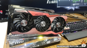 MSI Shows 10th Anniversary Edition 2080 Ti Lightning at Computex
