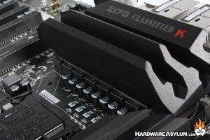 EVGA Z170 Classified K Motherboard Review
