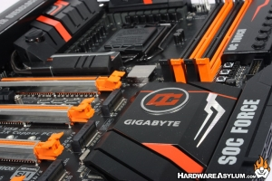 Gigabyte Z170X SOC Force Overclocking Motherboard Review