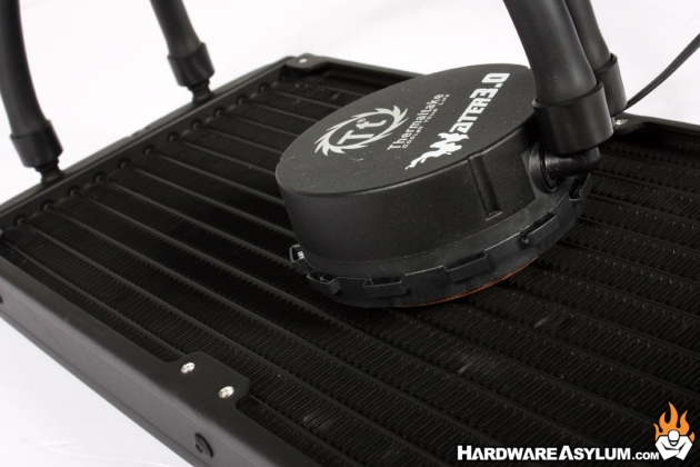 Thermaltake Water 3.0 Riing RED 280 AIO Cooler Review