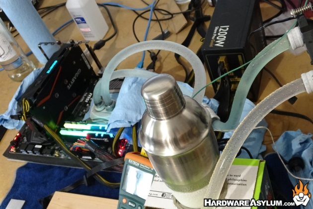 How to use exotic liquids with your watercooling loop