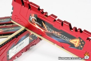 GSKill Ripjaws 4 DDR4 3000Mhz CL15 Quad Channel Memory Review