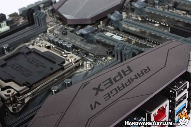 ASUS Rampage VI Apex Overclocking Motherboard Review