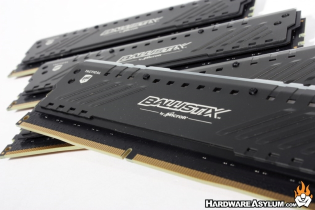 Crucial Ballistix Tactical Tracer RGB DDR4 2666Mhz Quad Channel Memory Review