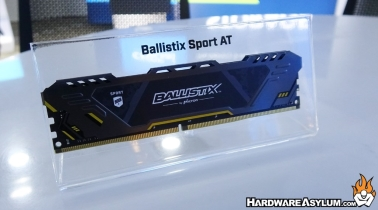 Micron Shows their New Ballistix Sport AT Memory at Computex 2018