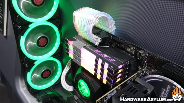 GeIL Upgraded the Popular EVOX II to Provide Cableless RGB for Computex